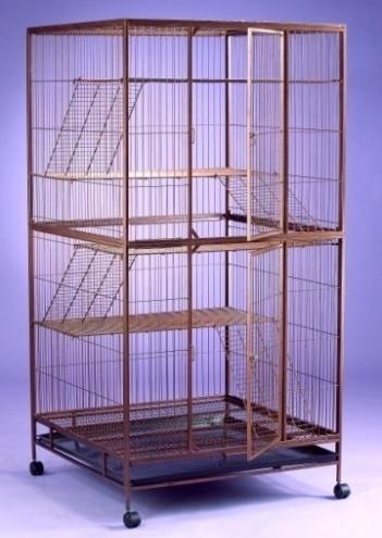 Steel Cat Cage 6335s