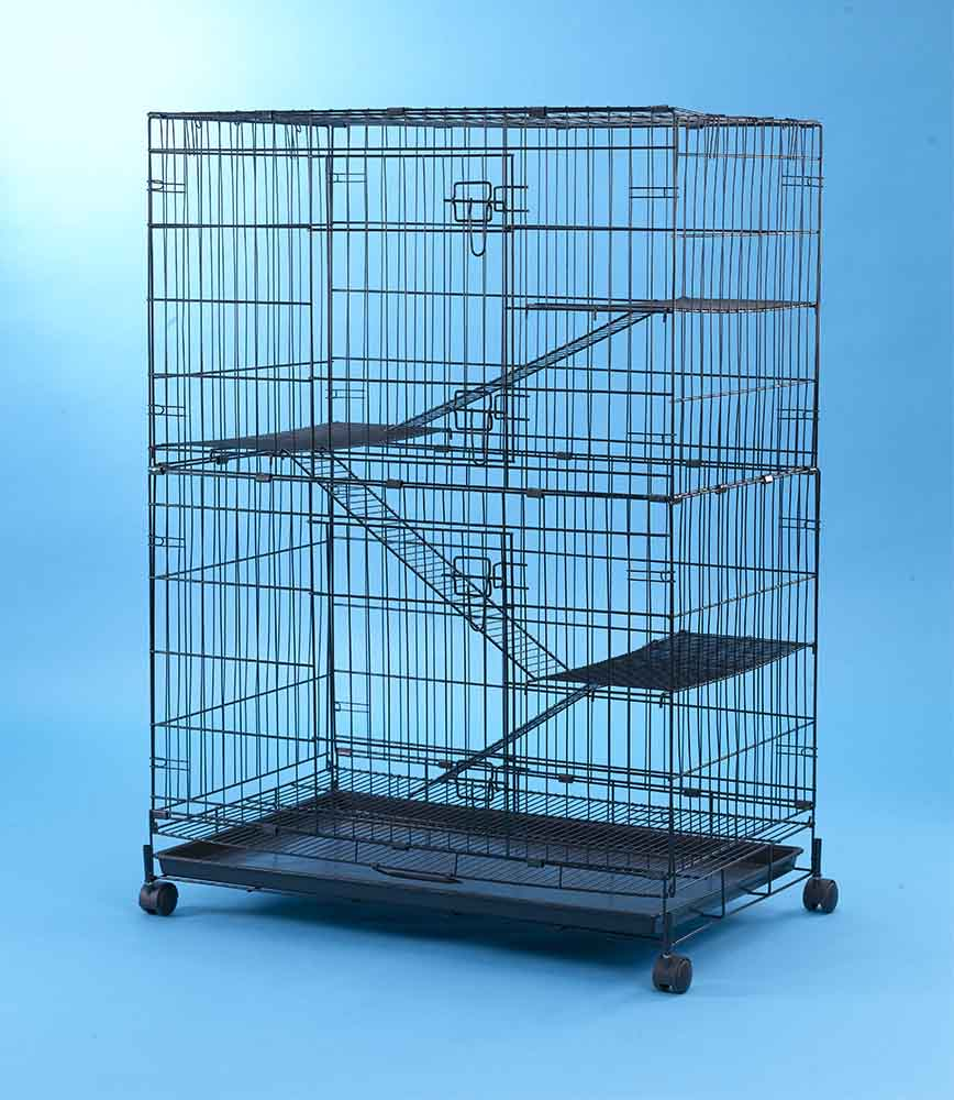 Steel Cat Cage 6357 (Economical Model)