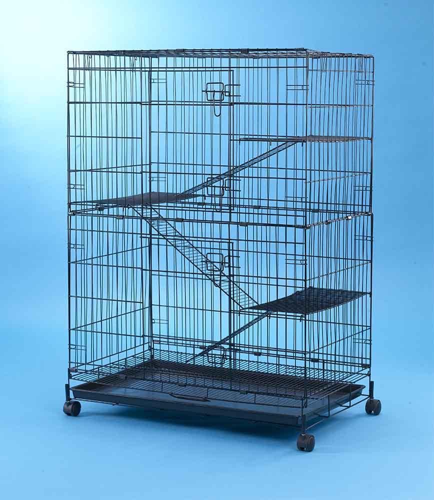 Steel Cat Cage 6357 (Economical Model)