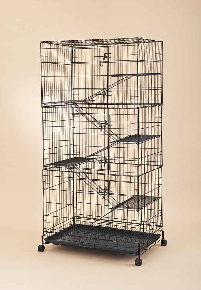 Steel Cat Cage 6358 (Economical Model)