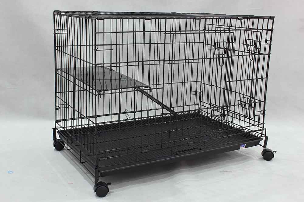 Collapsible Steel Cat Cage 6366