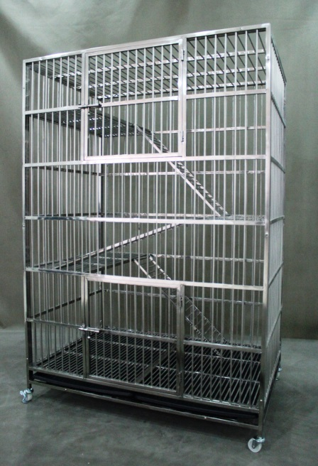 Stainless Steel Cat Cage 9200