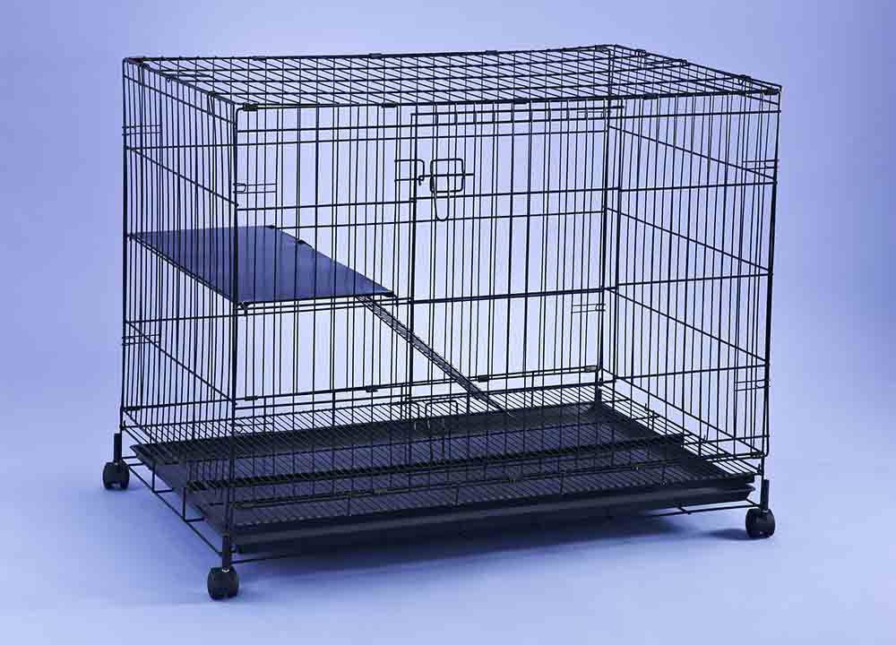 Collapsible Cat Steel Cage C377