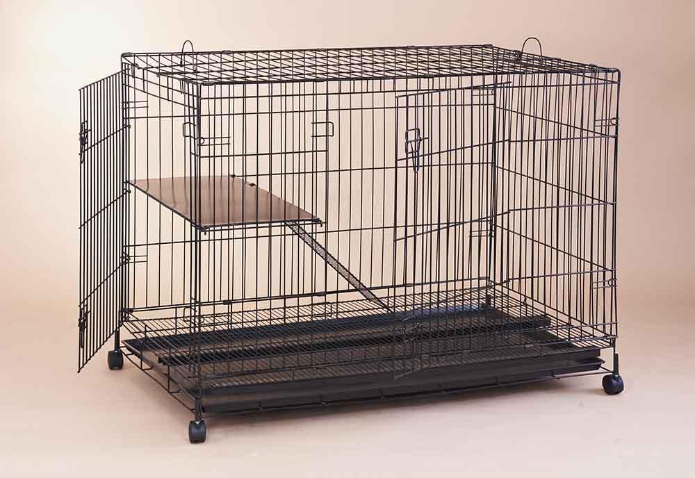 Steel Cat Cage C388