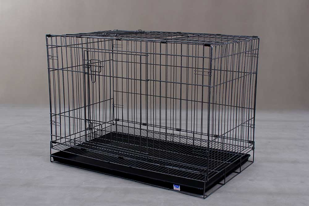 Collapsible Steel Dog Cage D306