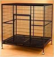 Steel Dog Cage D337