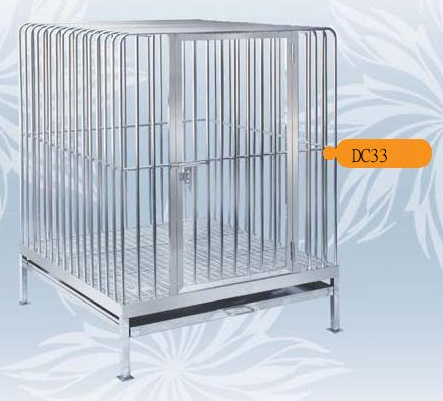 Fully Welded Stainless Steel Dog Cage DC33