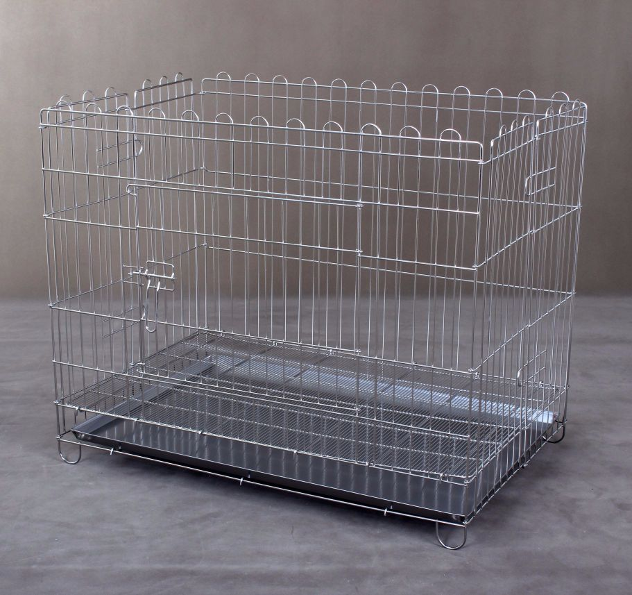 Stainless Steel Playpen S702 with tray