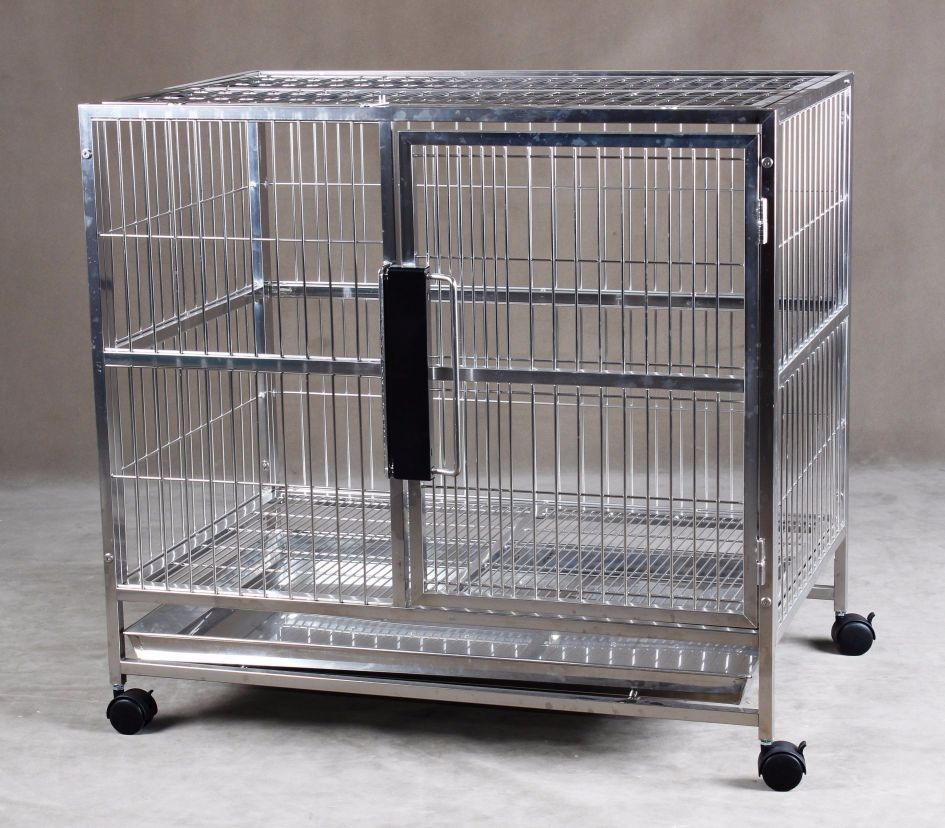 Stainless Steel Dog Cage S104 (304 Material)