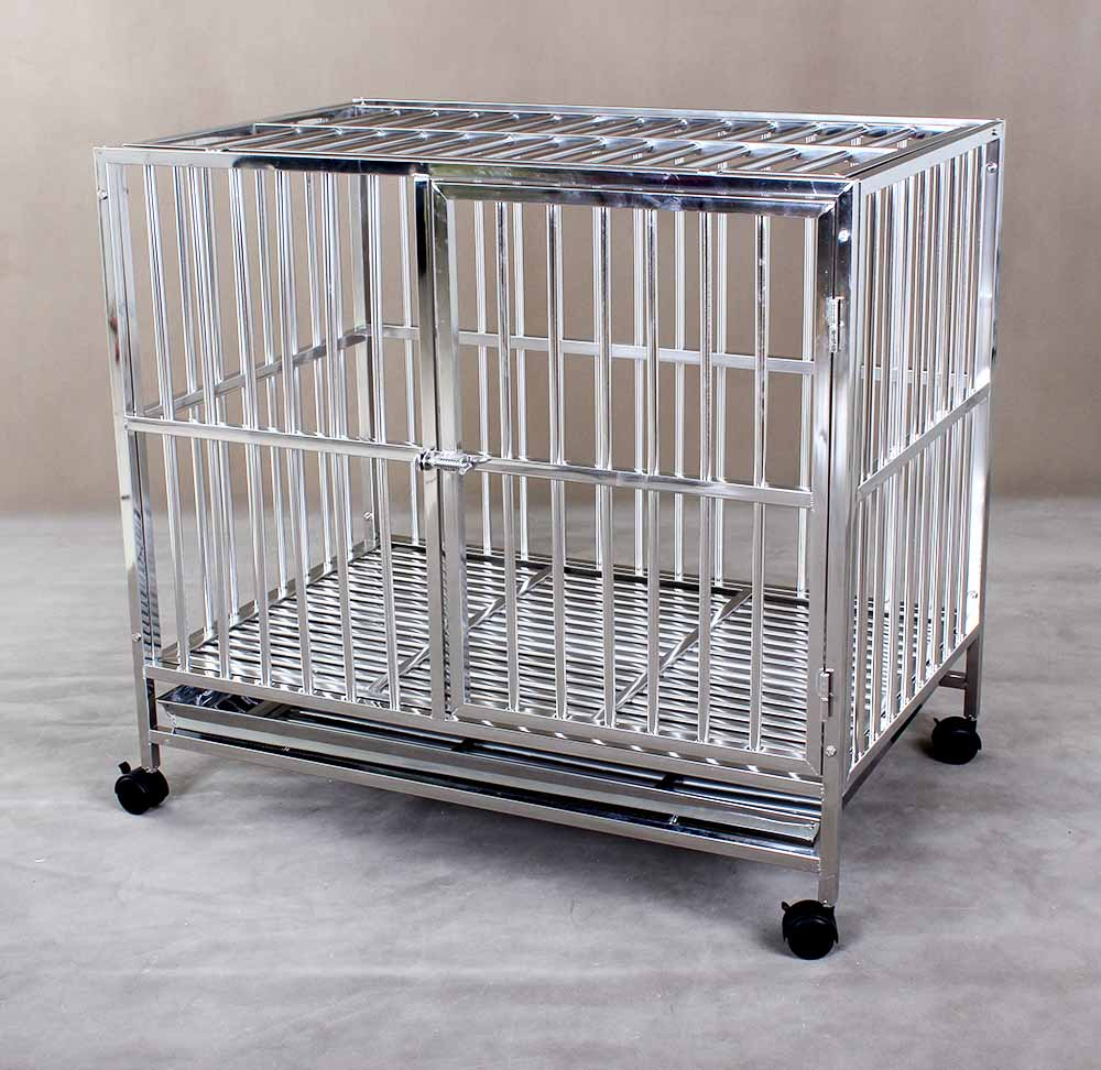 Stainless Steel Dog Cage S104B (304 Material)