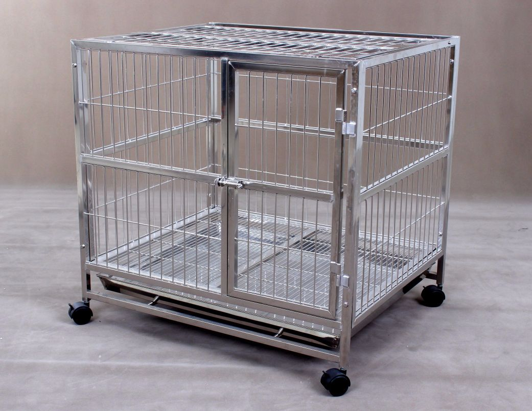 Stainless Steel Dog Cage S105 (304 Material)