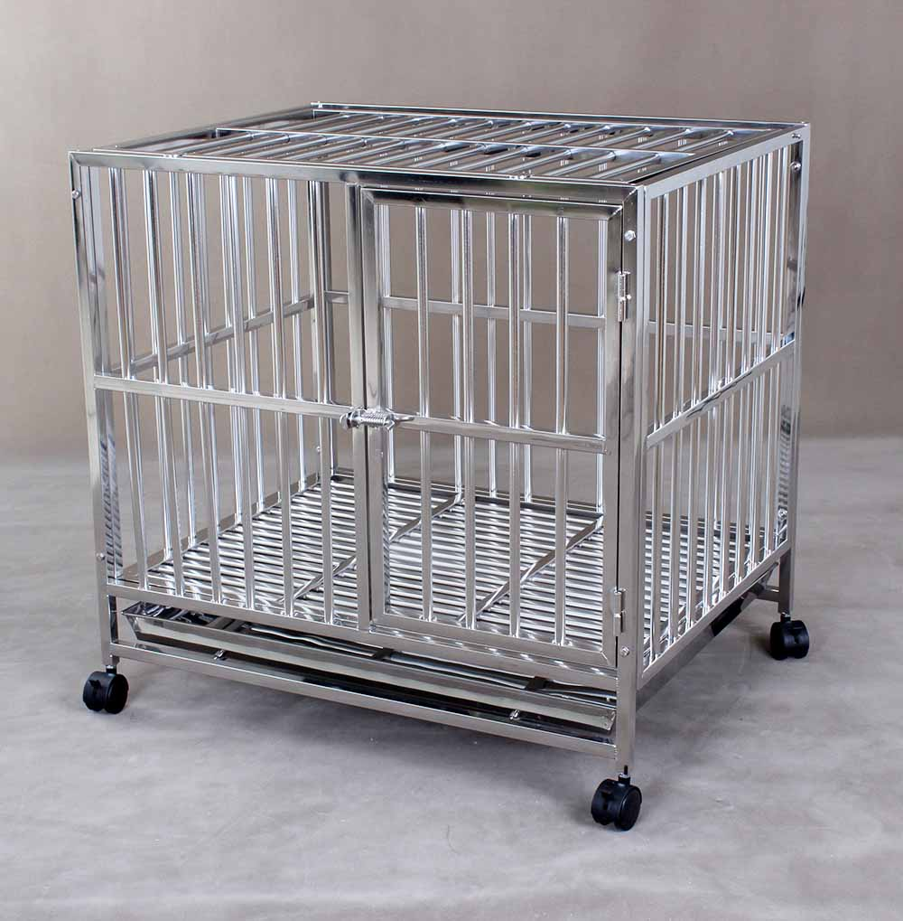 Stainless Steel Dog Cage S105B (304 Material)