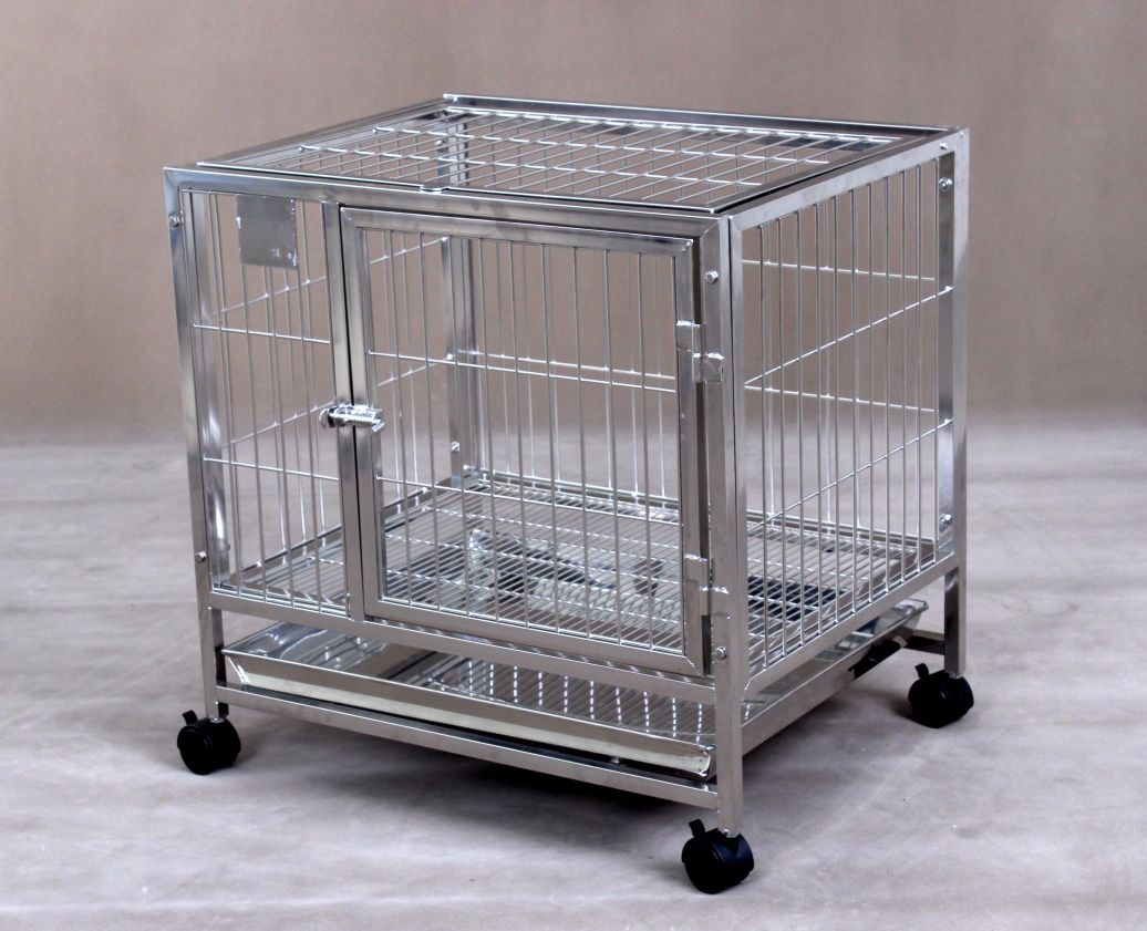 Stainless Steel Dog Cage S106 (304 Material)