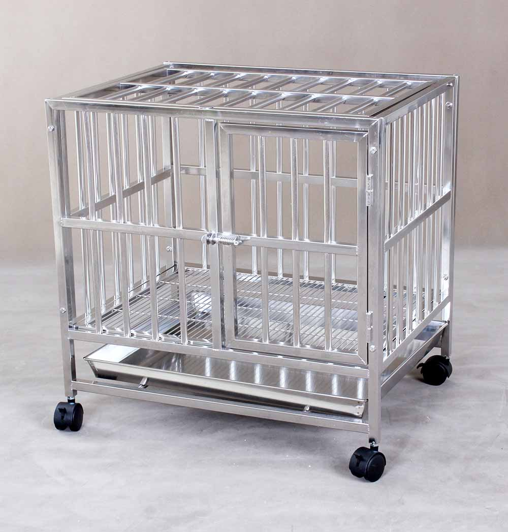 Stainless Steel Dog Cage S106B (304 Material)