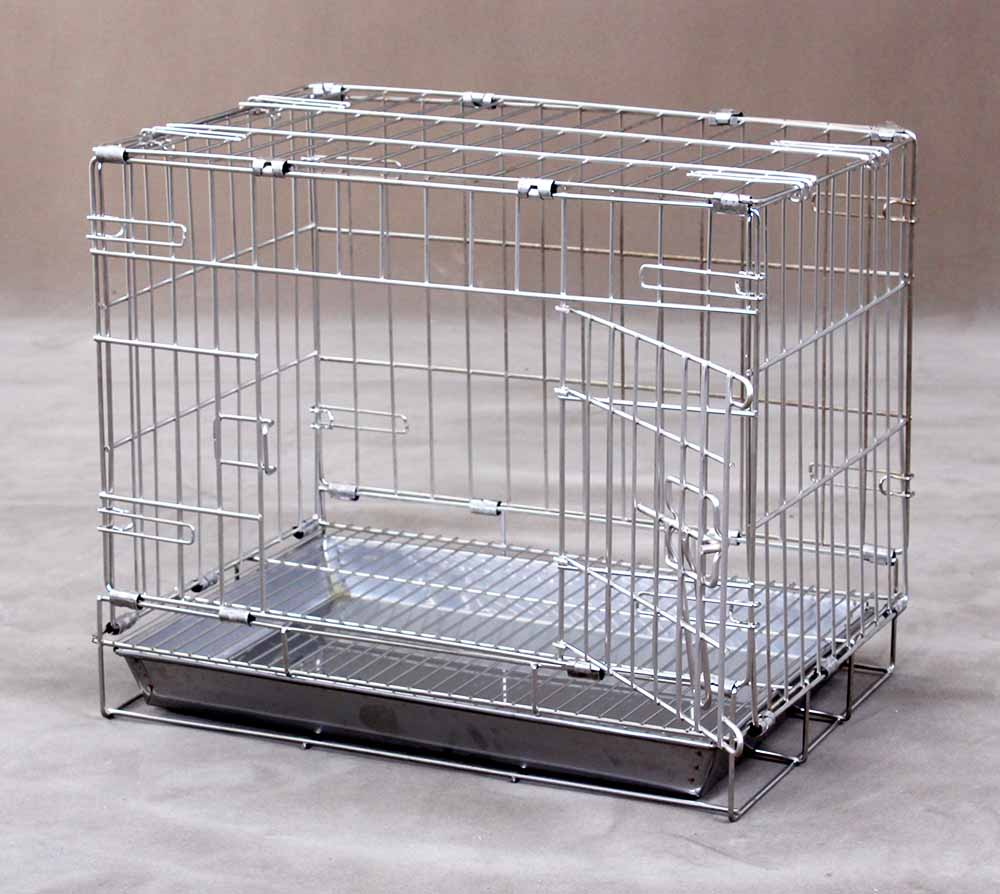 Collapsible Stainless Steel Pet Cage S110 (304 Material)