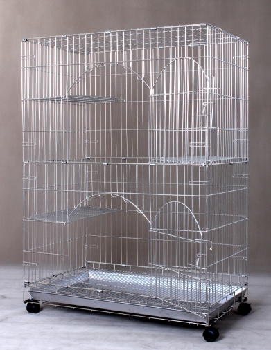 Stainless Steel Cat Cage S841A