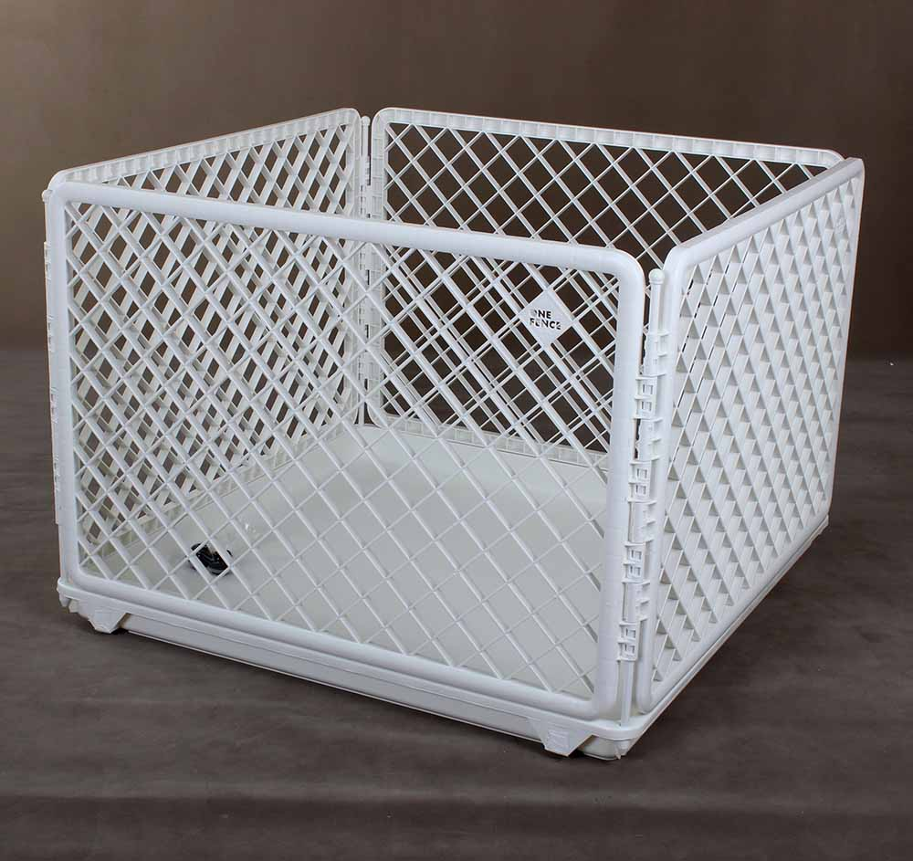 S90 One Touch Fence Playpen With Tray