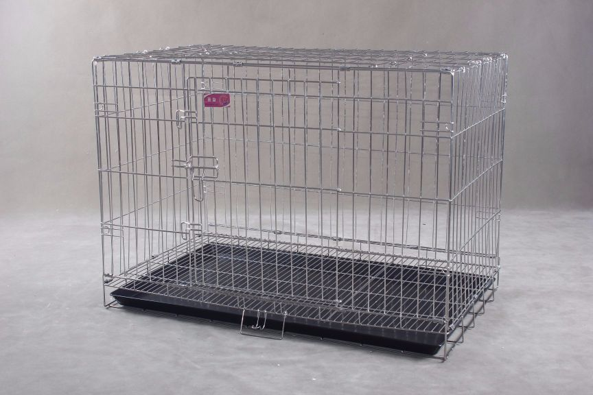 Collapsible Stainless Steel Pet Cage SC104