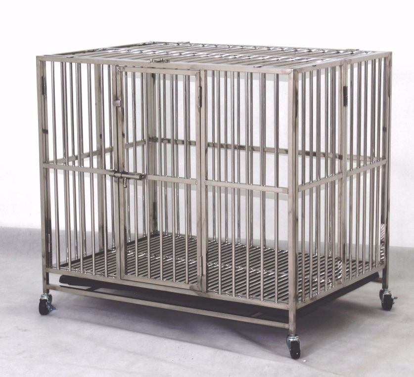 Stainless Steel Dog Cage SSC9312