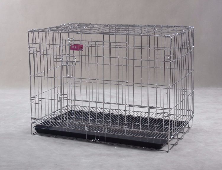 Collapsible Stainless Steel Pet Cage SC103