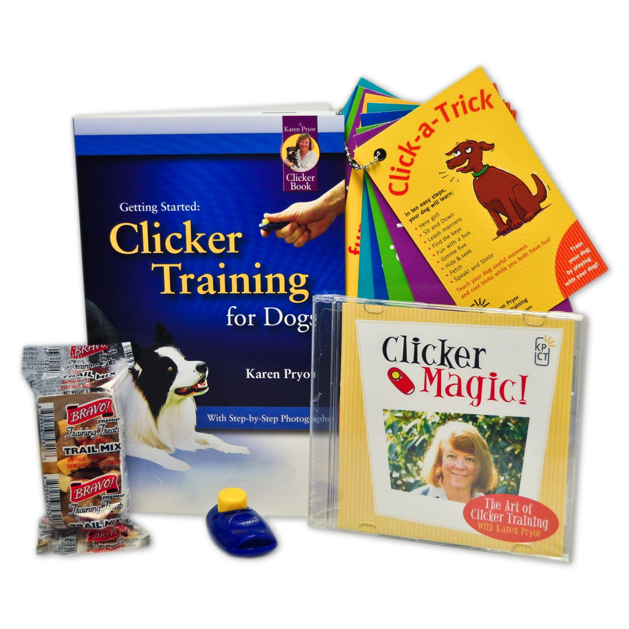 Clicker Training Dog Training Kit Plus
