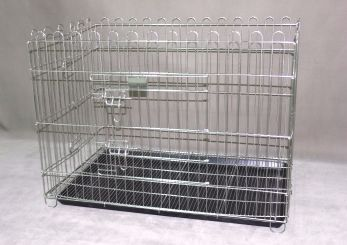 Stainless Steel Playpen with tray SP102