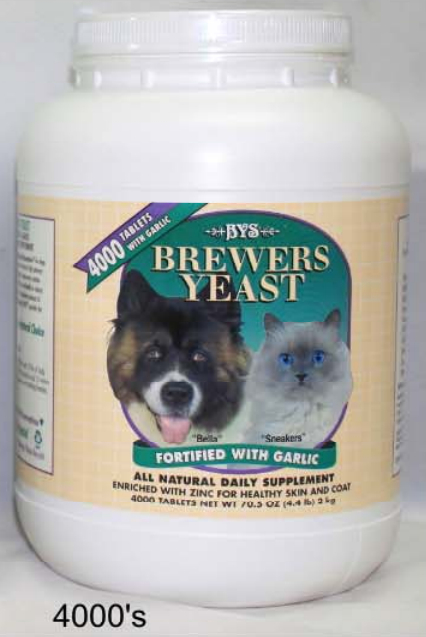 Brewers Yeast and Vitamin 4000 Tablets