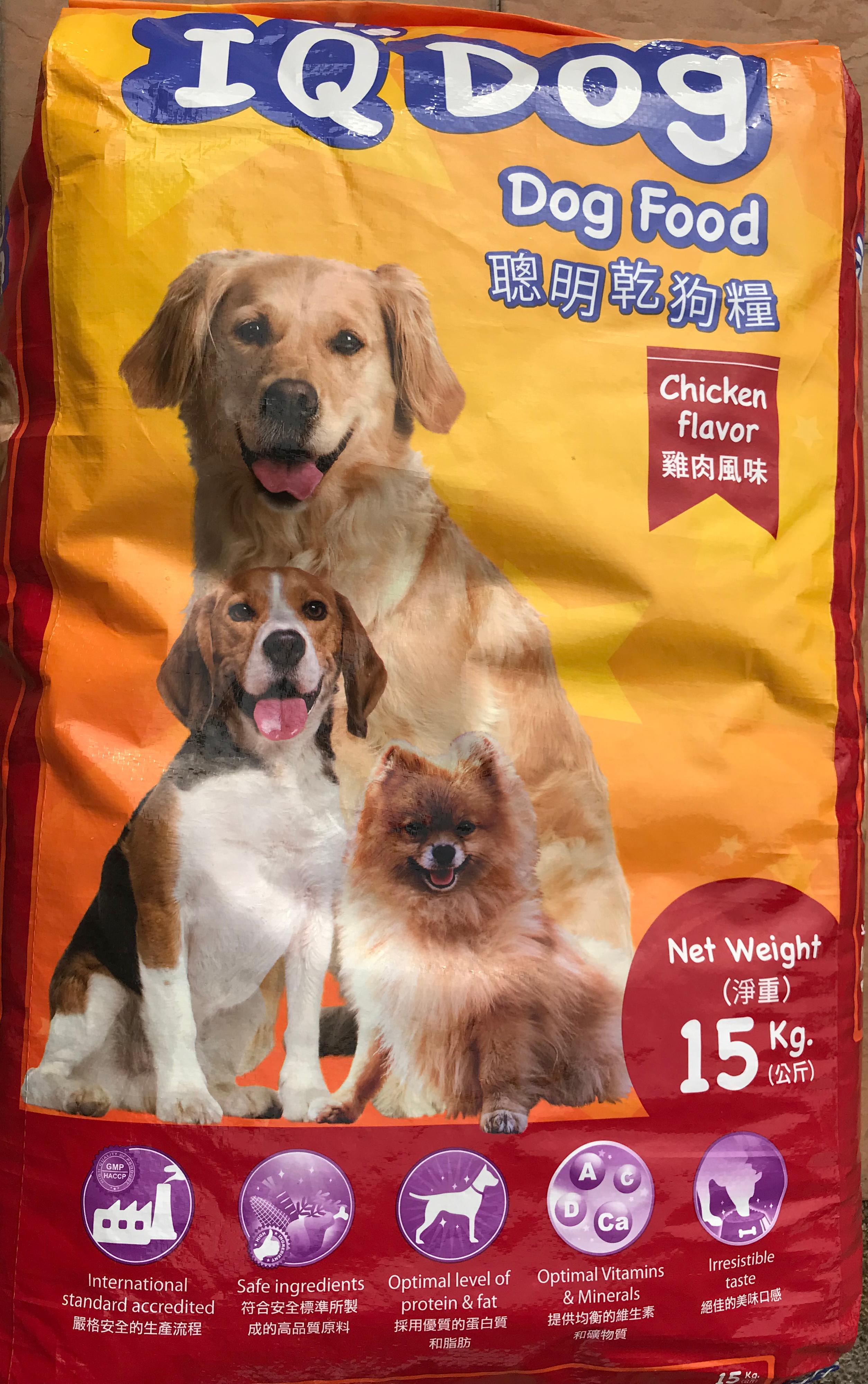 IQ Dog Chicken Dog Food 15Kg