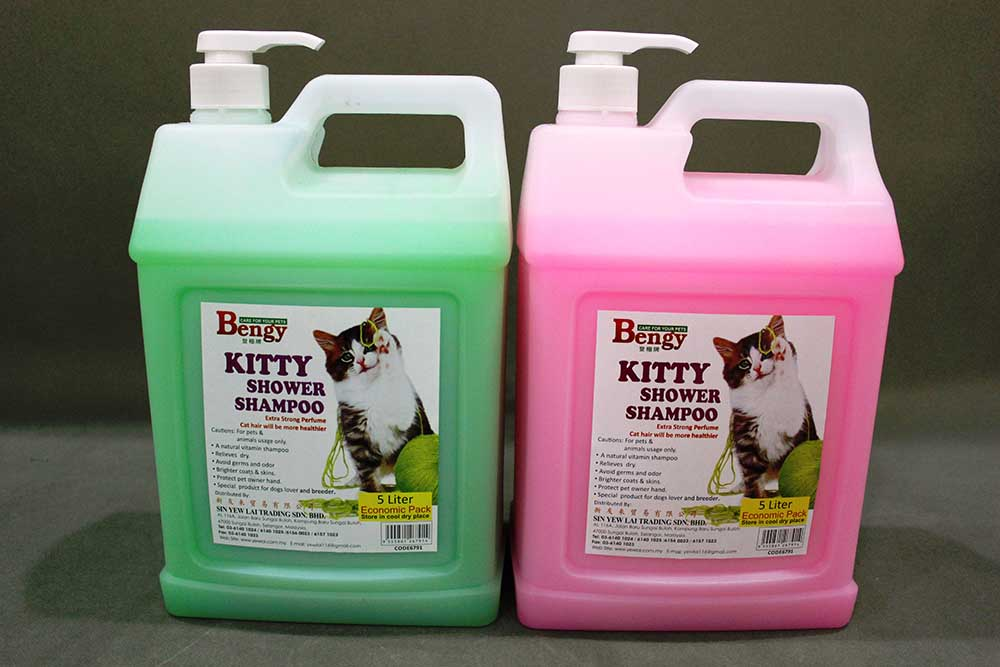 Bengy Cat Shampoo 5L Green