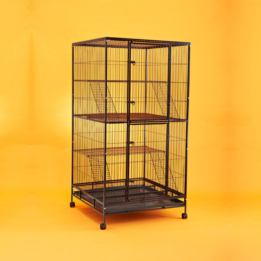 Steel Cat Cage C238