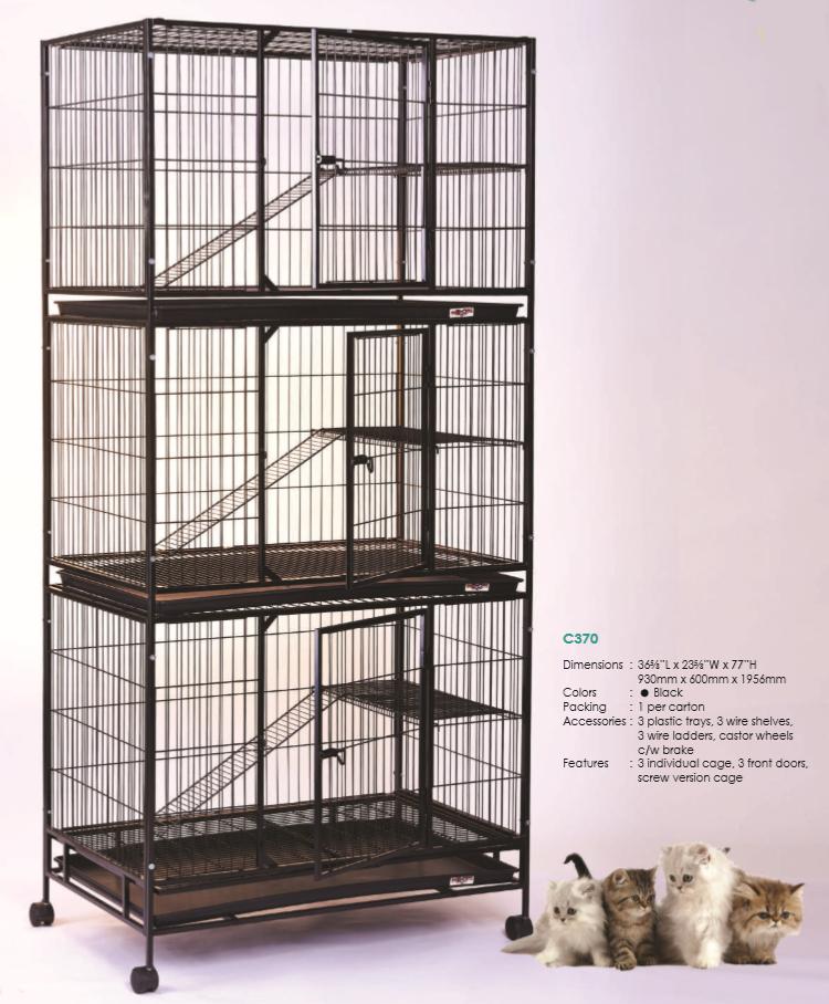 Steel Cat Cage C370