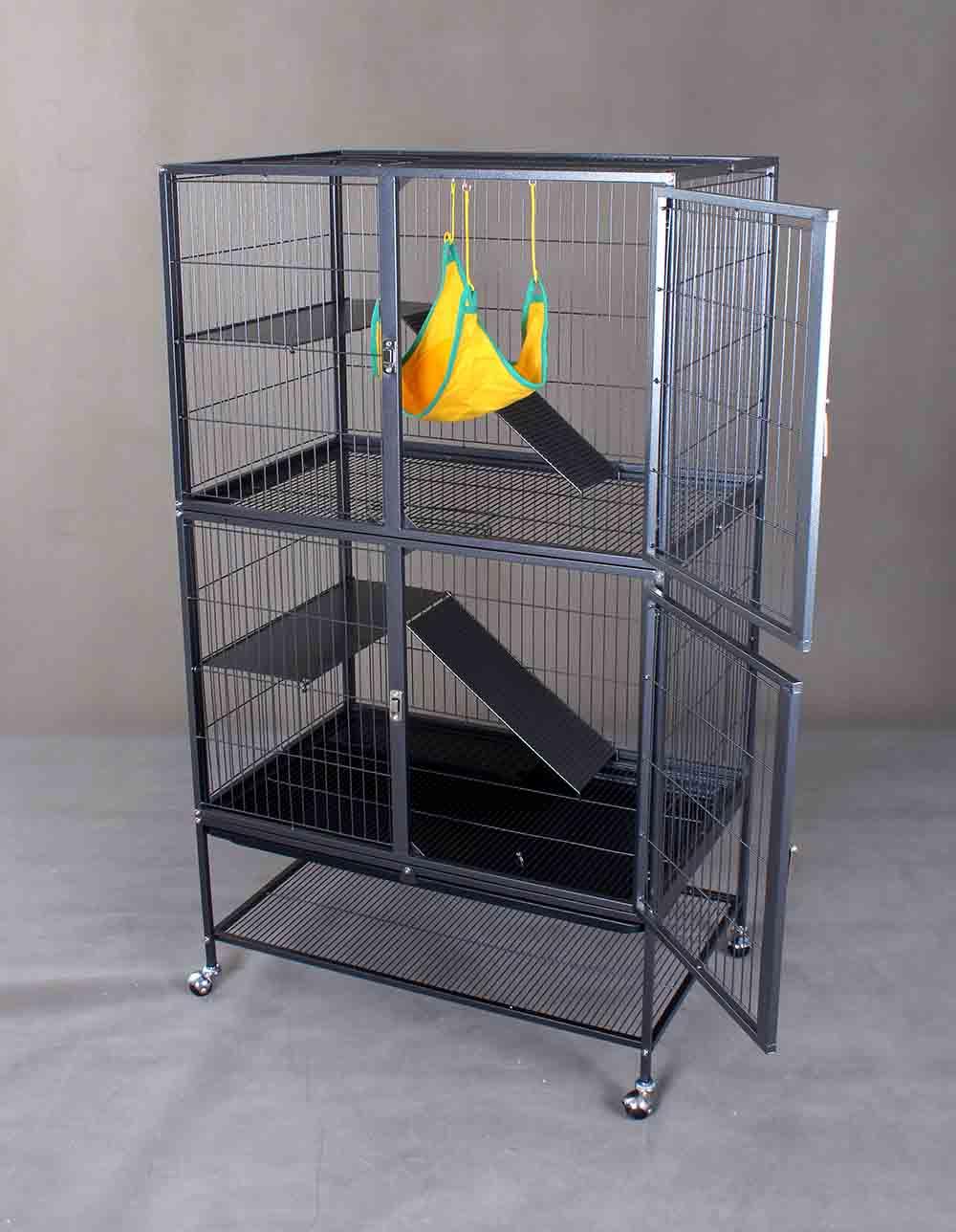 Steel Cat Cage D670
