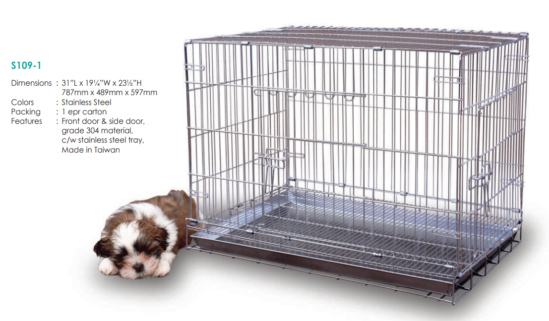 Stainless Steel Dog Cage S1091 (304 Material_