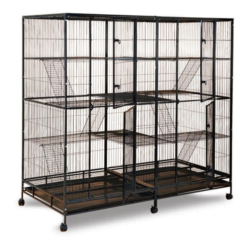 Steel Cat Cage C237