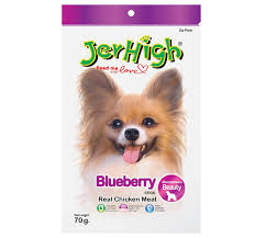 JerHigh Blueberry Stick Premium Dog Treats 70gm x 12 Packs